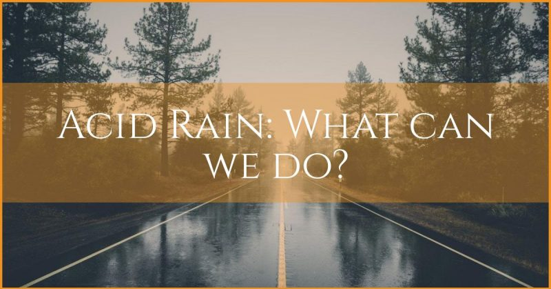 acid rain - what can we do