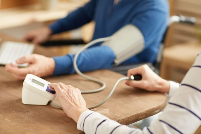 high blood pressure monitoring
